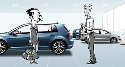 Volkswagen Financial Services – Dienstleistungen - Web Based Training-Serie