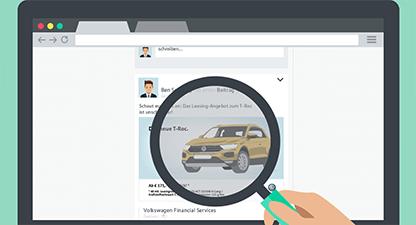Volkswagen Financial Services – Social Media - Web Based Training