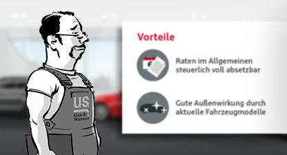 Audi Financial Service – Verkäufertrainings – Web Based Training-Serie