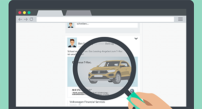 Volkswagen Financial Services – Social Media - Web Based Training