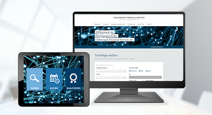 Volkswagen Financial Services - Training portal trailervideo
